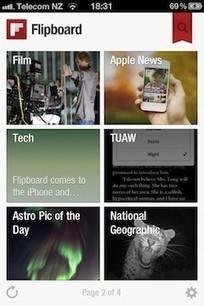 Flipboard for iPhone released | e-learning y moodle | Scoop.it