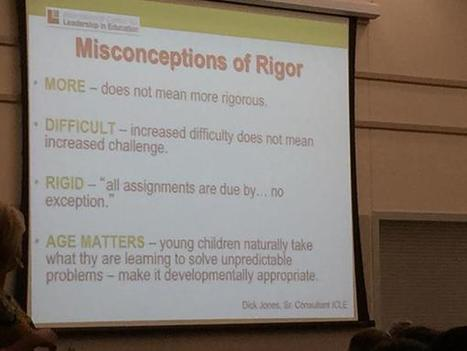 Carrie Jackson on Twitter | Common Core: Rigor with Vigor | Scoop.it