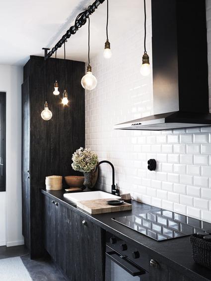black kitchen | NIU. Interiors & homes | Scoop.it