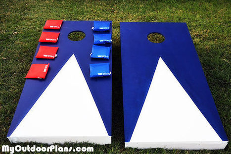 DIY Cornhole Game Boards | MyOutdoorPlans | Free Woodworking Plans and Projects, DIY Shed, Wooden Playhouse, Pergola, Bbq | Garden Plans | Scoop.it