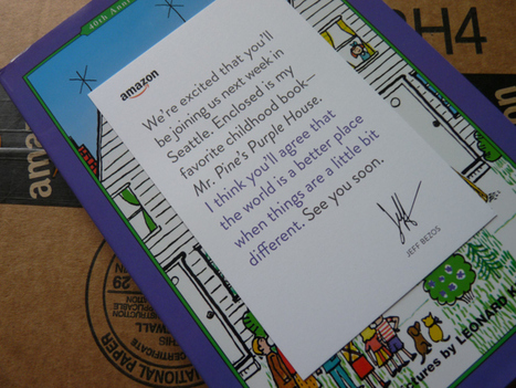 Jeff Bezos Sent Me A Book | TechCrunch | Digital-News on Scoop.it today | Scoop.it