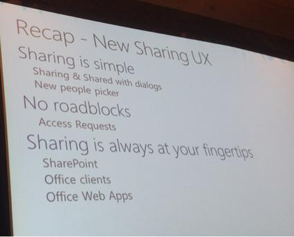 SharePoint Québec - Metalogique: Sharing on sharepoint, partage dans sharepoint   SharePoint   Scoop.it