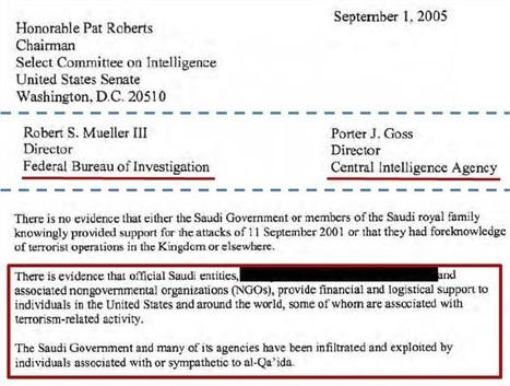 [ #11Septembre #11092001 ] Les 28 pages ont été déclassifiées ! #ArabieSaoudite #Terrorisme #AlQaida #ONG | Infos en français | Scoop.it