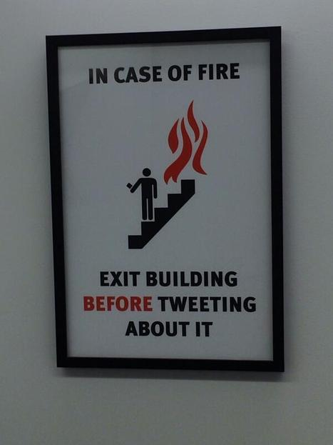 Twitter Office Posts the Best Fire Safety Advice You'll See All Day | Real Estate Plus+ Daily News | Scoop.it