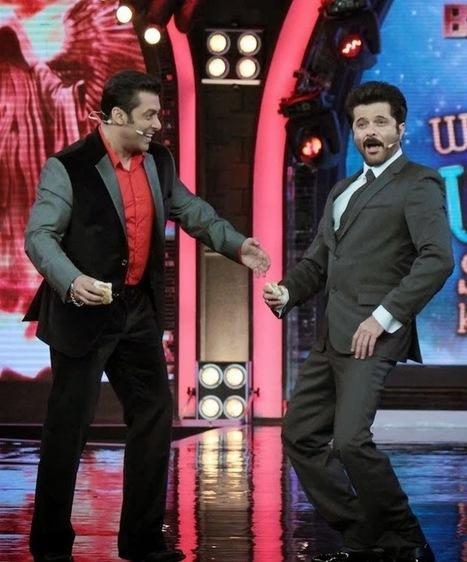 "Anil Kapoor ""Ram Lakhan"" Dance Step with Salman Khan in Bigg Boss 7 | BIGG BOSS Saath 7 News, Episodes, Photos | Scoop.it"