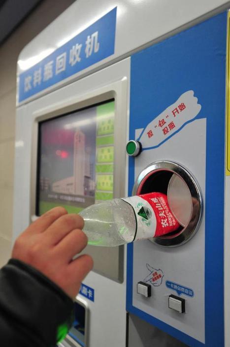 À Pékin, payez votre ticket de métro avec des bouteilles plastiques | Transport | Scoop.it
