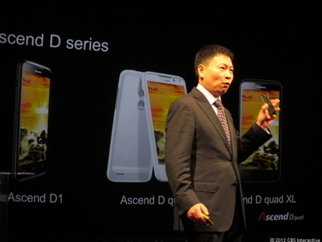 Huawei: Our Ascend D Quad is world's fastest smartphone | Mobile & Technology | Scoop.it