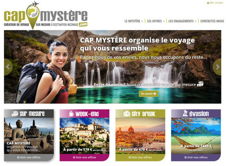Cap Mystère takes its client to an unknown destination | Tourisme Tendances | Scoop.it