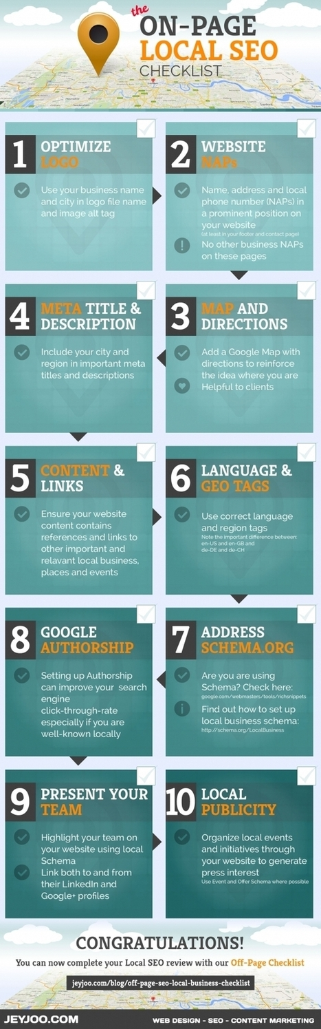 The On-Page SEO Checklist for Local Business Websites | Meanwhile in the NET | Scoop.it
