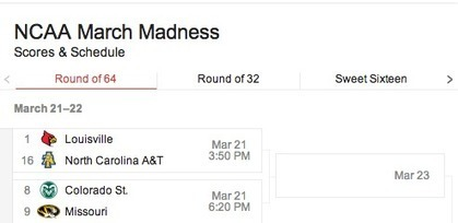 Google search adds sports info, gets a bad case of March Madness | iGeneration - 21st Century Education | Scoop.it