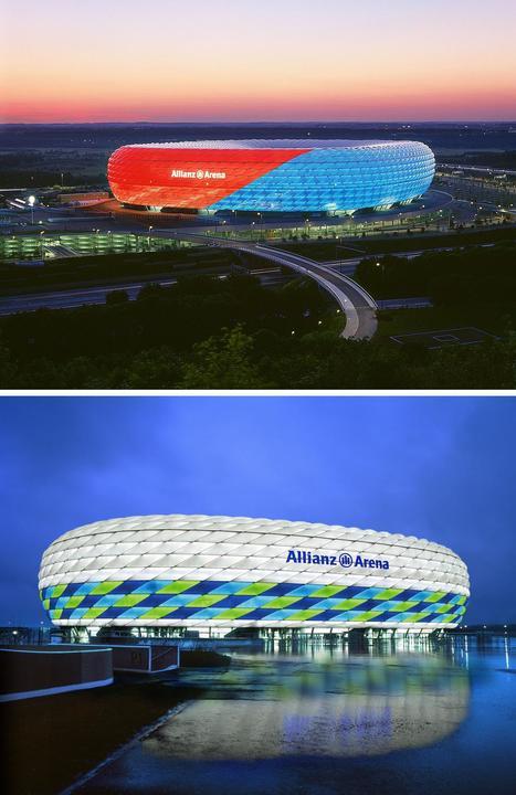 Allianz Arena, Múnich Alemania | Arquitectura Del Siglo XXI | Scoop.it