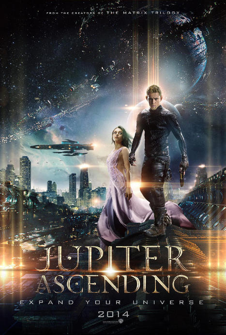 Expand Your Universe With Four Stunning 'Jupiter Ascending' Posters | Channing Tatum | Scoop.it