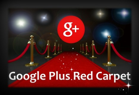The Google Plus Celebrity Red Carpet, Circle These Nine People Now. - @RandyHilarski | Social Media News | Scoop.it