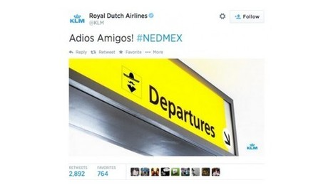 KLM se moque du Mexique après leur défaite : 1 tweet, 1 bad buzz, 3 erreurs | Community and Social Media Management | Scoop.it
