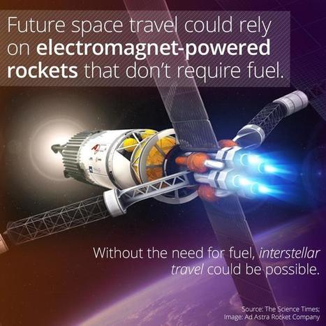 Future Space Travel May Rely On Magnets, Not Fuel | MOVIES VIDEOS & PICS | Scoop.it