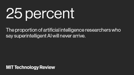 Most experts say AI isn't as much of a threat as you might think | MishMash | Scoop.it