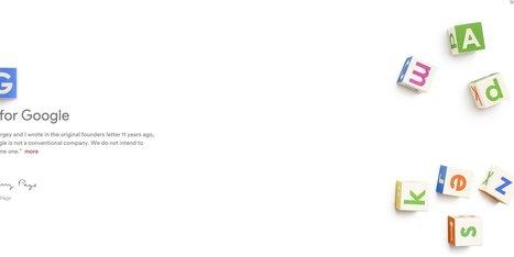 Google ahora se llama Alphabet│@ElHuffPost | Las TIC en el aula de ELE | Scoop.it