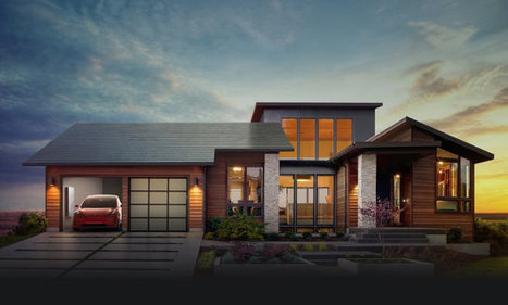 Elon Musk has unveiled a solar roof and integrated solar energy solutions | Science and technology | Scoop.it