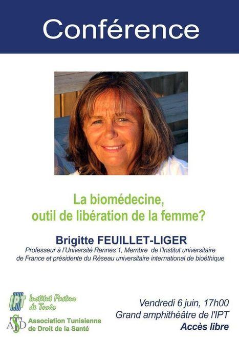 Rappel : La biomédecine, outil de libération de la femme : Conférence le vendredi 6 juin 2014 à 17h00 | Institut Pasteur de Tunis-معهد باستور تونس | Scoop.it