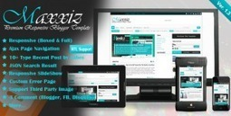 Download Maxxiz v1.3 - Themeforest Responsive Magazine/News Blogger Template | web | Scoop.it