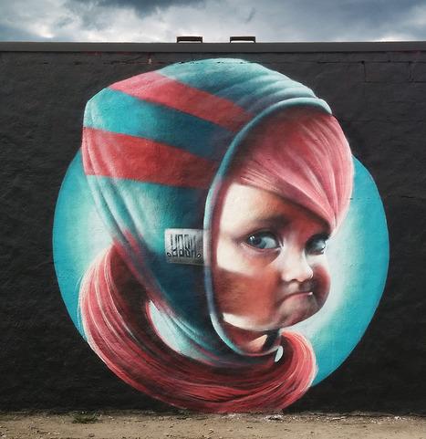 YASH - Mural Artist from Stockholm, Sweden. | #Design | Scoop.it