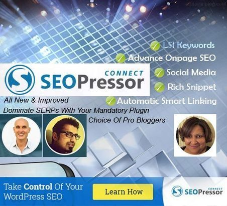 SEOPressor Connect Review: Efficacious On Page SEO Plugin - E Tutorial Blog | ETutorialBlog | Scoop.it