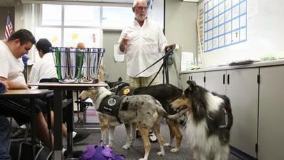 Dogs help valley's special needs kids develop new skills - The Desert Sun | Special Needs Issues | Scoop.it