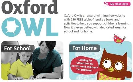 Oxford Owl- en skattkista fylld med guld! | Folkbildning på nätet | Scoop.it