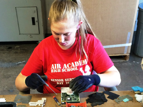 Autistic adults find their niche recycling electronics | This Gives Me Hope | Scoop.it
