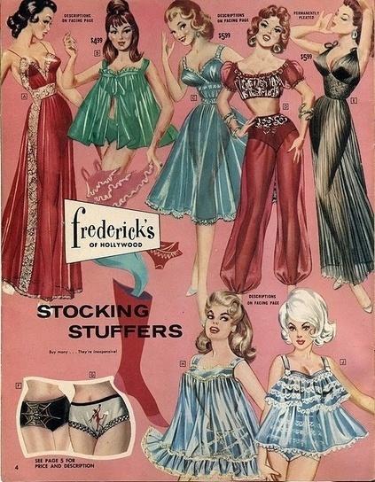 Sweet Vintage Lingerie: Vintage Lingerie Ads Top Ten Frederick's Of Hollywood   vintage lingerie   Scoop.it