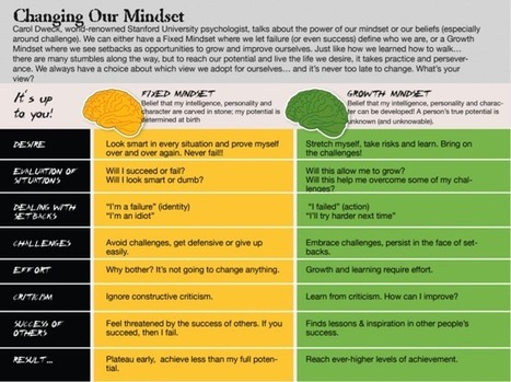 Motivation and mindset anchoring | mindsets | Scoop.it
