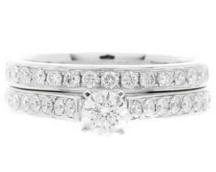 PR1061 Diamond Ring With Matching Wedding Band | Engagement Rings Dublin | Scoop.it