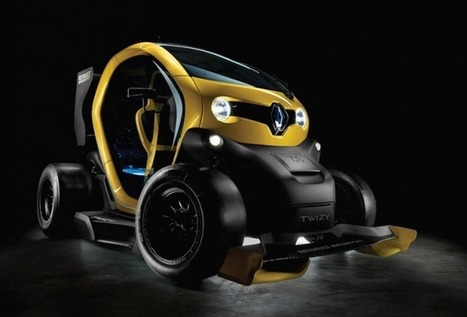 Renault Twizy Sport F1 Concept « Airows | What Surrounds You | Scoop.it