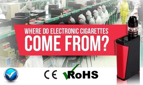 E-cigarette Manufacturers Who Are They? Where Are They?   E Cig - Electronic Cigarette News   Scoop.it