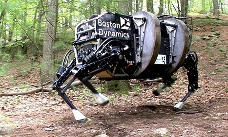 Robotique : Google Veut Revendre Boston Dynamics | Presse-Citron | Veille & Culture numérique | Scoop.it