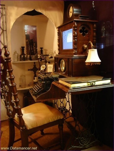 28 Crazy Steampunk Home Office Designs   Design   News, E-learning, Architecture of the future at news.arcilook.com   Architecture news   Scoop.it