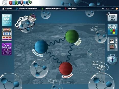 CERNland. Sitio interactivo del CERN para atraer vocaciones científicas | Cajón de sastre | Scoop.it