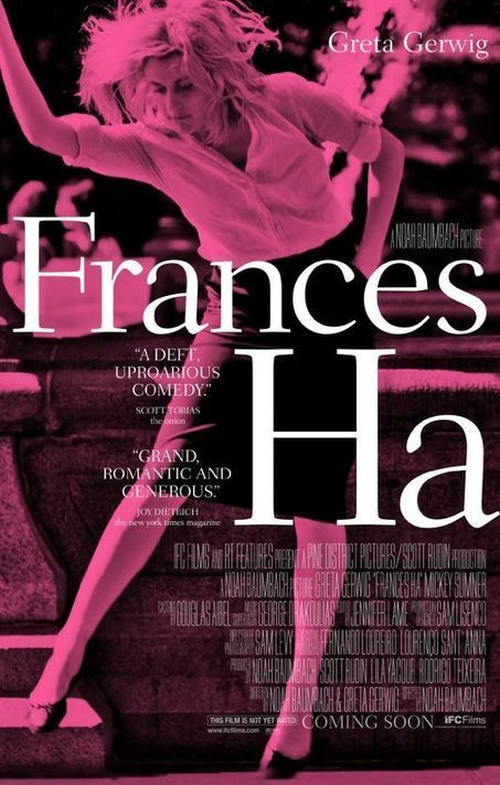«Frances Ha»: une génération quidéménage - le Monde | Actu Cinéma | Scoop.it