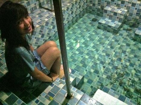 Twitter / veronicapotato: Fish Spa :)) http://t.co/Y7OodAPnFh | all you need to know about fishing | Scoop.it