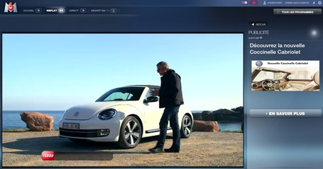 Inédit publicité 2nd écran : Volkswagen inaugure la synchronisation dans l'émission TURBO - M6 Publicité Digital | ubimedia and ubiquitous internet | Scoop.it