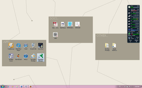 Keep Your Desktop Neat and Tidy With These Built-in Organization Wallpapers | Herramientas digitales | Scoop.it
