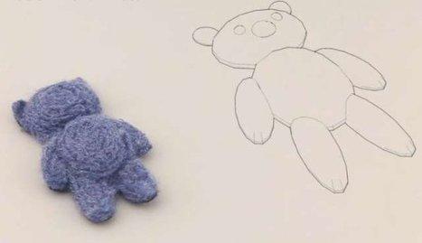 Teddybeer uit de 3D printer | Blokboek3D | Scoop.it
