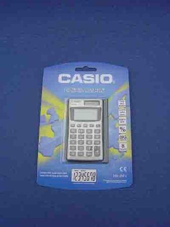 Calculators: Basic calculator model HS-8V   Calculators   Scoop.it