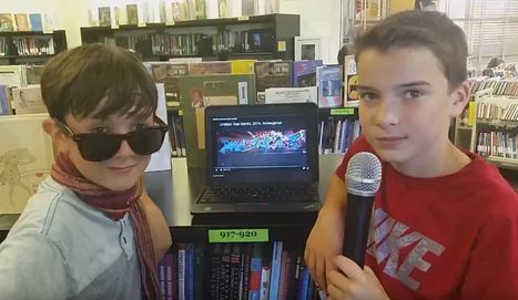 Digital Art Gallery--Collaboration in the Library | Creativity in the School Library | Scoop.it