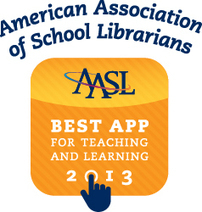 Best Apps for Teaching & Learning 2013 | American Association of School Librarians (AASL) | iPads in education k-6 | Scoop.it