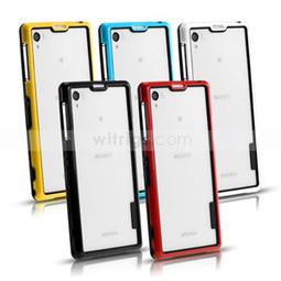 Flexible Soft TPU Hybrid with PC Bumper Case for Sony Xperia Z1 Black/Yellow - Witrigs.com | Sony Xperia Z1 Z2 Z1C Cover Case | Scoop.it
