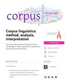 Mr. Verb: Linguistics news ... corpus linguistics MOOC and Journal ... | Applied Corpus Linguistics | Scoop.it