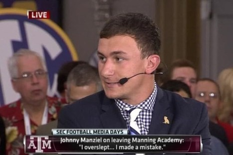 "Paul Finebaum: Johnny Manziel is ""The Justin Bieber of College Football"" - Front Page Buzz 