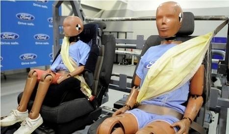 Cinturones de seguridad hinchables que reducen la gravedad de lesiones en caso de accidente   saltirelles   Scoop.it
