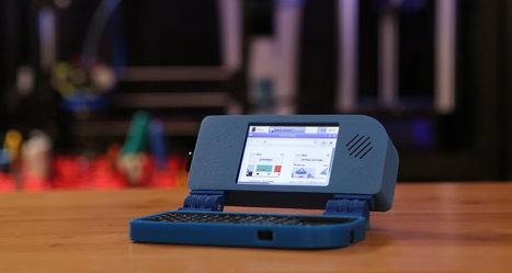 Mini Raspberry Pi Handheld Notebook #3DThursday #3DPrinting | Raspberry Pi | Scoop.it